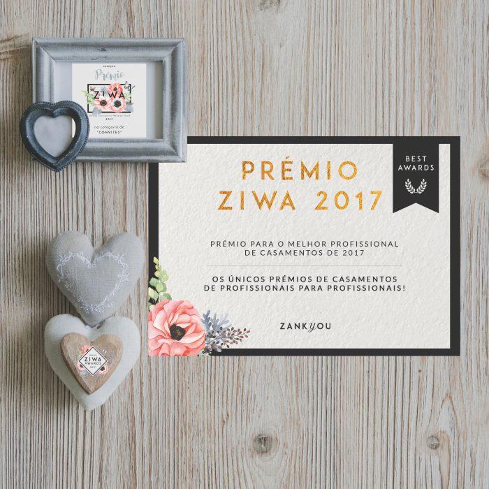 ZIWA AWARDS 2017 - a pajarita